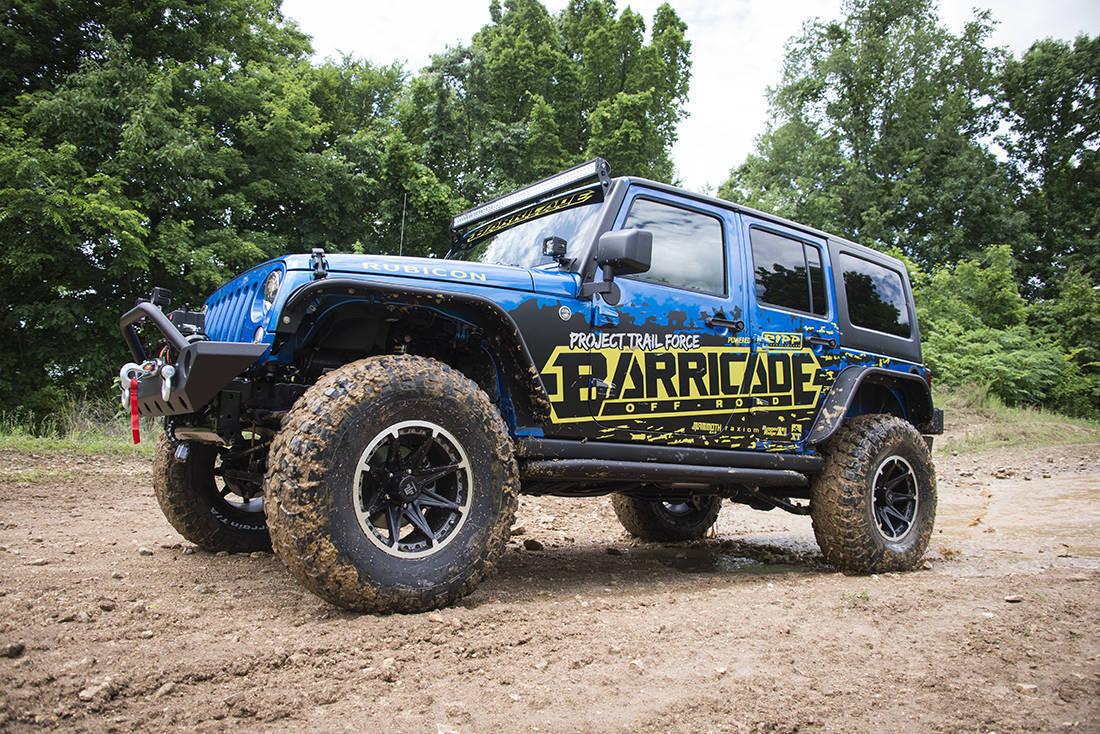Foto de Jeep Wrangler Project Trail Force (2/19)