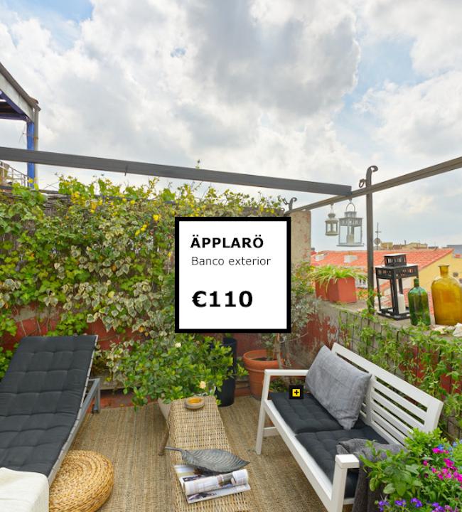 Ikea nos descubre el potencial de nuestras terrazas con - Ikea terraza y jardin ...