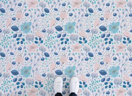 Seis suelos con dibujos florales para empezar el lunes con más alegría