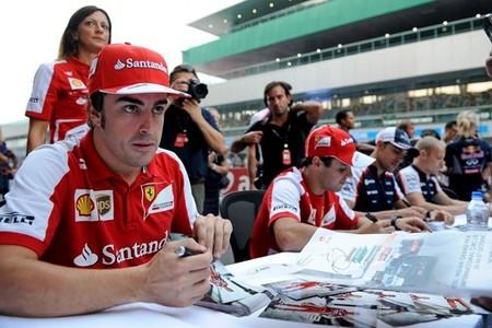 Fernando Alonso, subcampeonato y mirada en el 2014