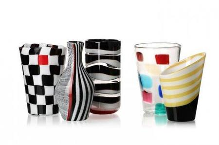 Vasos de Versace para una casa de lujo
