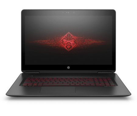 17 3 Omen By Hp With Brand Logo On Screen Front Facing