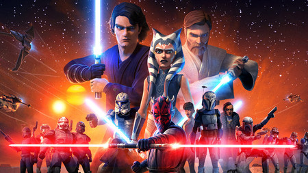 The Clone Wars Returns Final Season Tall A