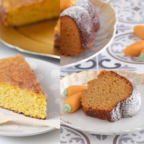 Las 15 mejores recetas de pasteles, tartas y bizcochos de zanahoria