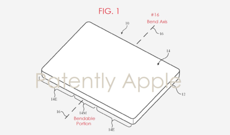 Nueva patente de Apple nos trae más pistas sobre un posible iPhone plegable