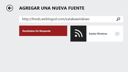 Noticias app para Windows 8/RT