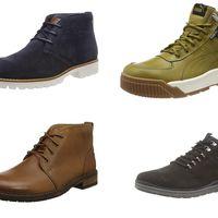 Ofertas de Amazon en botas para hombre con chollos en tallas sueltas de marcas como Panamá Jack, Geox, Clarks o Puma