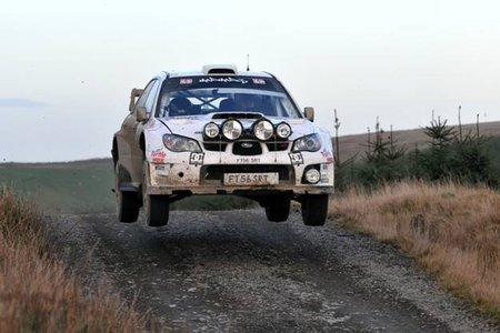 Mads Ostberg y el equipo Adapta con un Ford Fiesta WRC para la temporada 2011