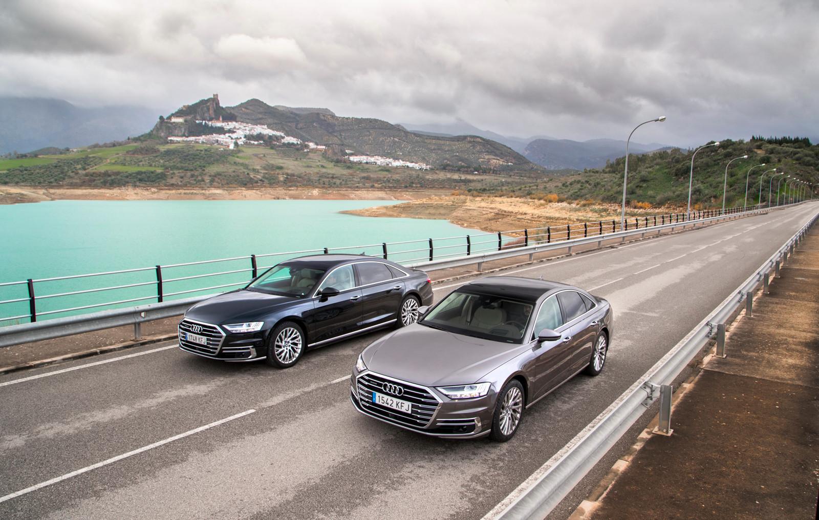 Foto de Audi A8 2018 (presentación) (78/81)