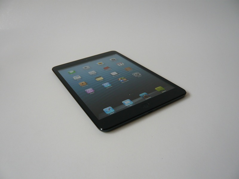 Diseño exterior del iPad mini