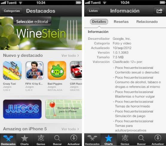 app store ios aplicaciones apple