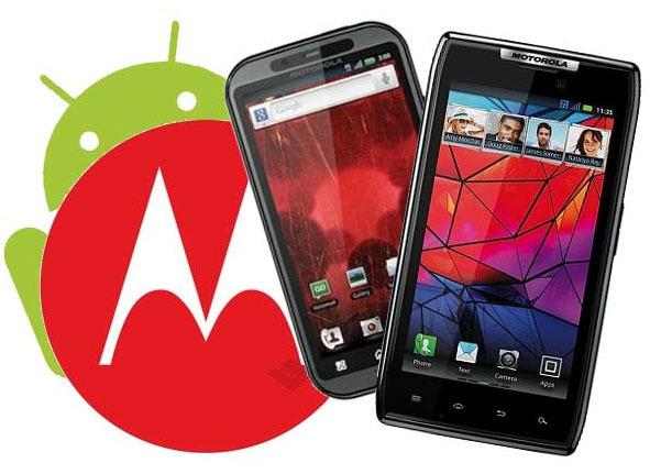 Motorola Android actualización