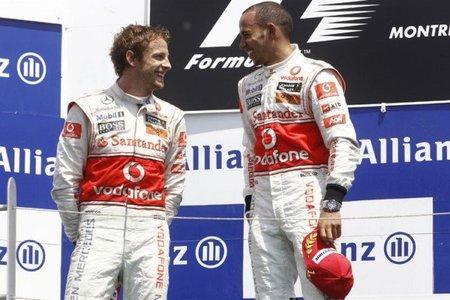 Damon Hill pronostica tensión entre Lewis Hamilton y Jenson Button