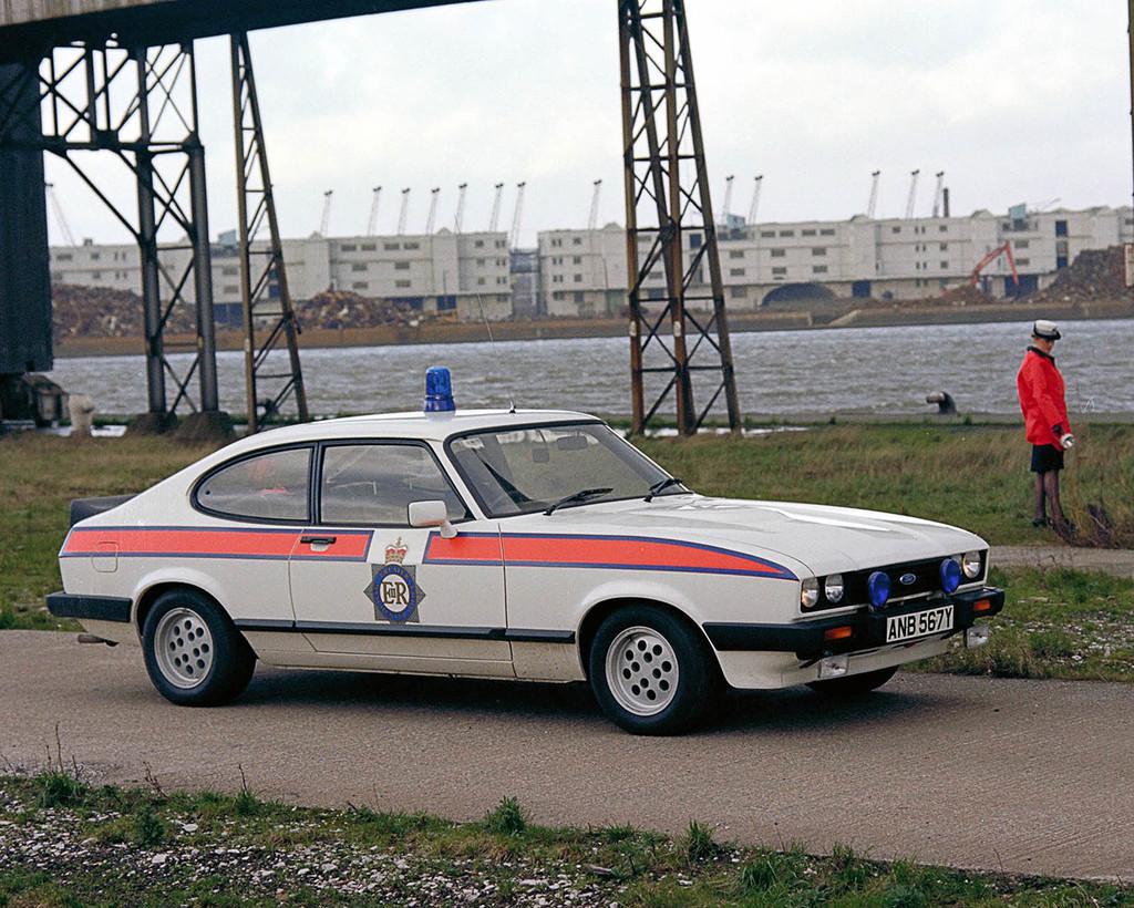 Police Ford Capri