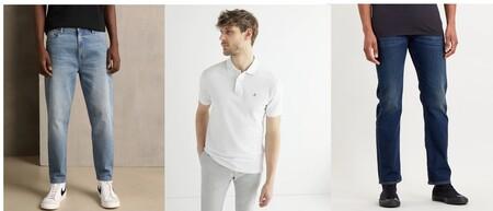 Descuentos Top en El corte Inglés, con ofertas en pantalones Levi´s, camisas Calvin Klein o camisetas  Gap