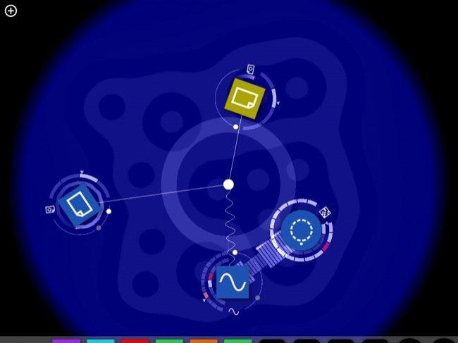 Reactable, comenzando a jugar con la aplicación