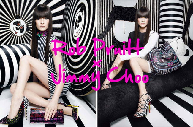 Jimmy Choo y Rob Pruitt