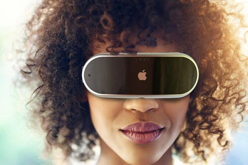 Las Apple Glass aparecen en un render basado en todo lo que sabemos del futuro dispositivo de realidad aumentada