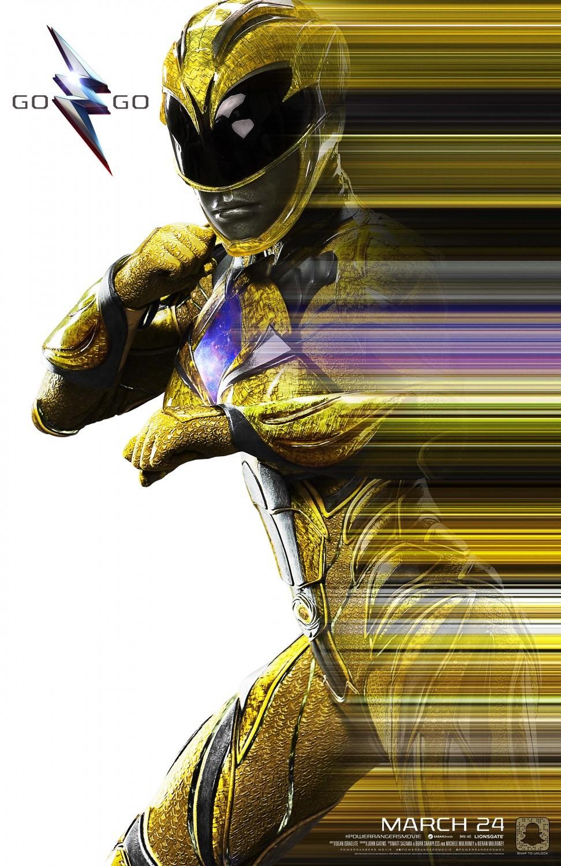 'Power Rangers', carteles de los protagonistas del reboot