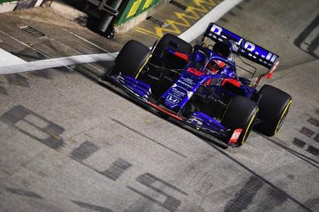 Kvyat Singapur F1 2019