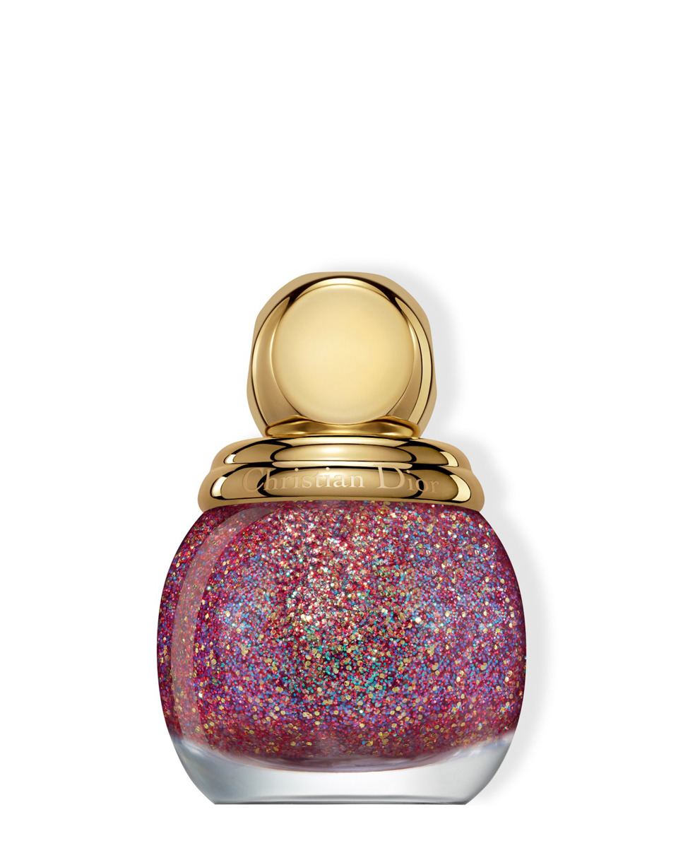 DIORIFIC VERNIS HAPPY 2020 Top coat con purpurina de colores