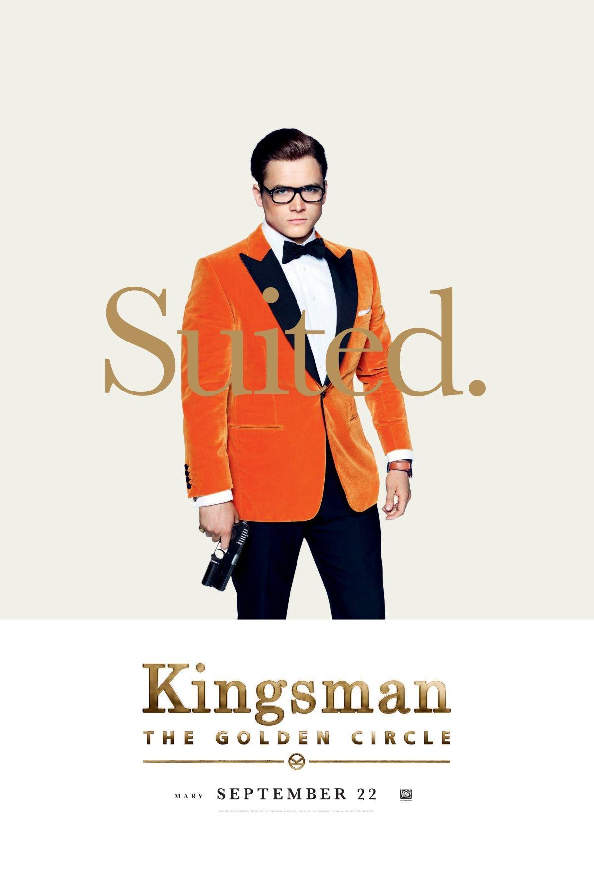 Foto de Carteles de los protagonistas de 'Kingsman: El círculo de oro' (1/8)