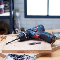 Oferta de Amazon en el taladro atornillador Bosch Professional GSR 12V-15, con 39 accesorios, disponible por 129,99 euros