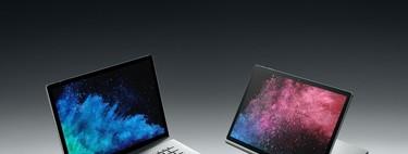 La gama Surface se actualiza en Microsoft: el Surface Book 2 y el Pro 6 reciben más RAM para mejorar su rendimiento