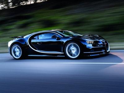 No, el Bugatti Chiron no puede pasar de 420 km/h (de momento) y la culpa es de los neumáticos