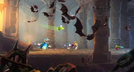 'Rayman Legends' nos muestra otra de sus pantallas musicales, lo más parecido a un 'Guitar Hero' con plataformas y enemigos