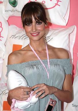 Ariadne Artiles en fiesta del pijama niega su separación