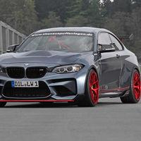 Este BMW M2 CSR de Lightweight Performance es una bestia parda de 598 CV