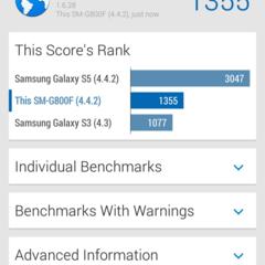 Foto 10 de 17 de la galería samsung-galaxy-s5-mini-rendimiento-1 en Xataka Android