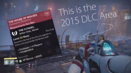 Destiny - jugador accede a nueva ``zona de DLC´´ gracias a un glitch