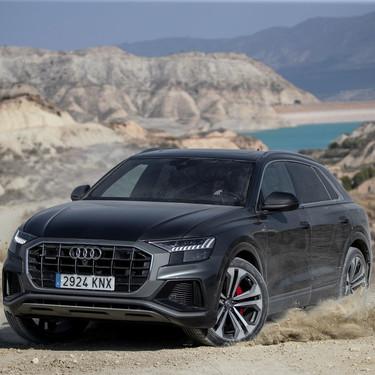 Probamos el impactante Audi Q8: un SUV de lujo, diésel y mild hybrid para complementar al Q7
