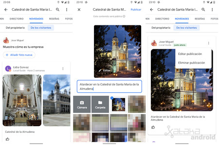 Google Maps Novedades Visitantes