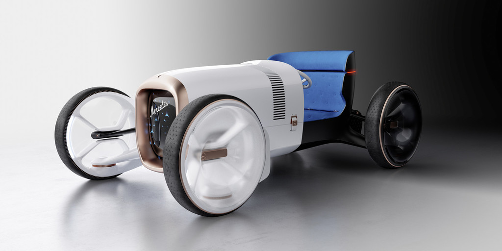 Vision Mercedes Simplex, un prototipo de roadster retrofuturista inspirado en el Mercedes 35 CV de 1901