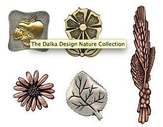 "Dalka Design Nature Collection, ""tiradores verdes"""