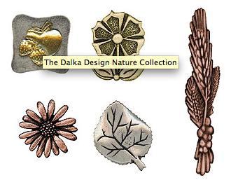 Dalka design nature collection tiradores verdes - Tiradores decorativos ...
