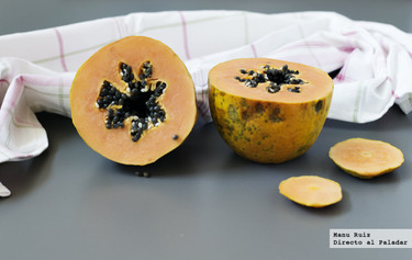 La Papaya, rica y saludable fruta tropical