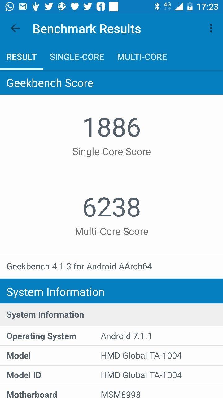 Foto de Nokia 8 Benchmarks (2/7)