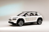 Frankfurt 2013: Citroën Cactus Concept - un hatchback con cuerpo de crossover
