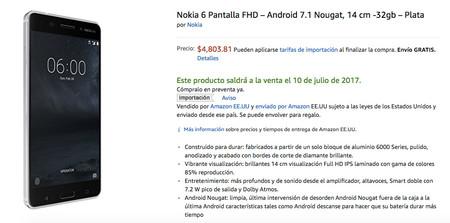 Nokia 6 Amazon