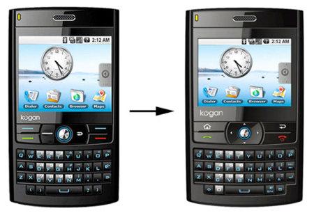 Kogan Agora, un teléfono Android desde Australia
