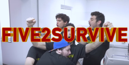 Ya está aquí Five2Survive: retos loquísimos en forma de vídeo