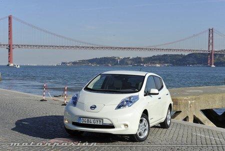 Diez Nissan Leaf ya ruedan por Portugal