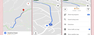 Google Maps de Android Auto estrena nuevo interfaz más limpio y visual