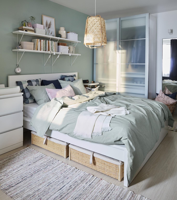 Catálogo de Ikea 18: 18 novedades para decorar un dormitorio muy