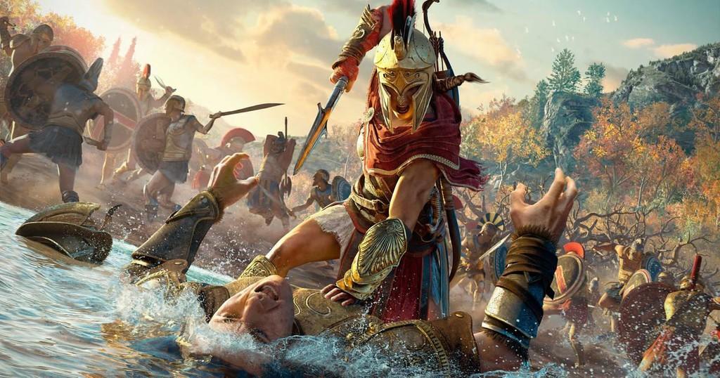 El nuevo spot de Assassin's Creed Odyssey reinterpreta  el tráiler de Trainspotting al estilo de la Antigua Grecia