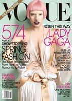 La tendencia rosa según Lady Gaga en la portada de marzo de Vogue